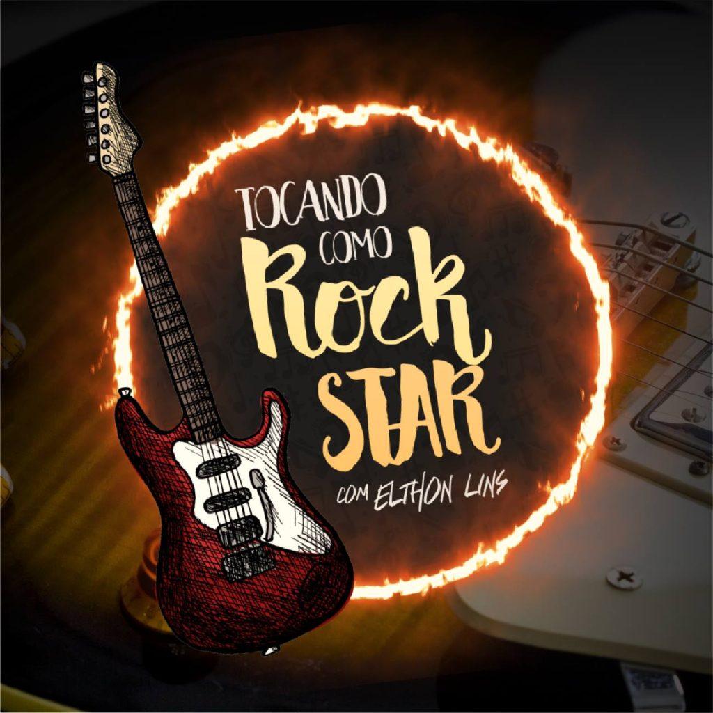 Logo - tocando como rockstar