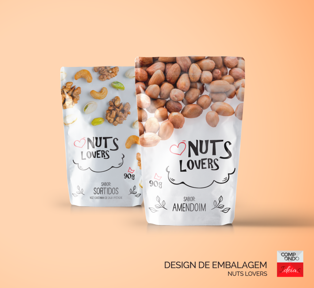 Embalagem Nuts lovers